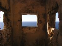 Ausblick vom Wachturm vor San Telmo